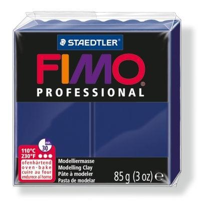 Глина полимерная FIMO Professional 85г темно-синяя 8004-34