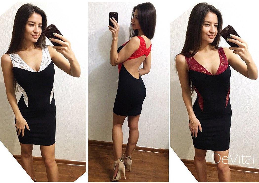 c65e1876b98 Купить Облегающее платье с открытой спиной в разных цветах tez240334 ...