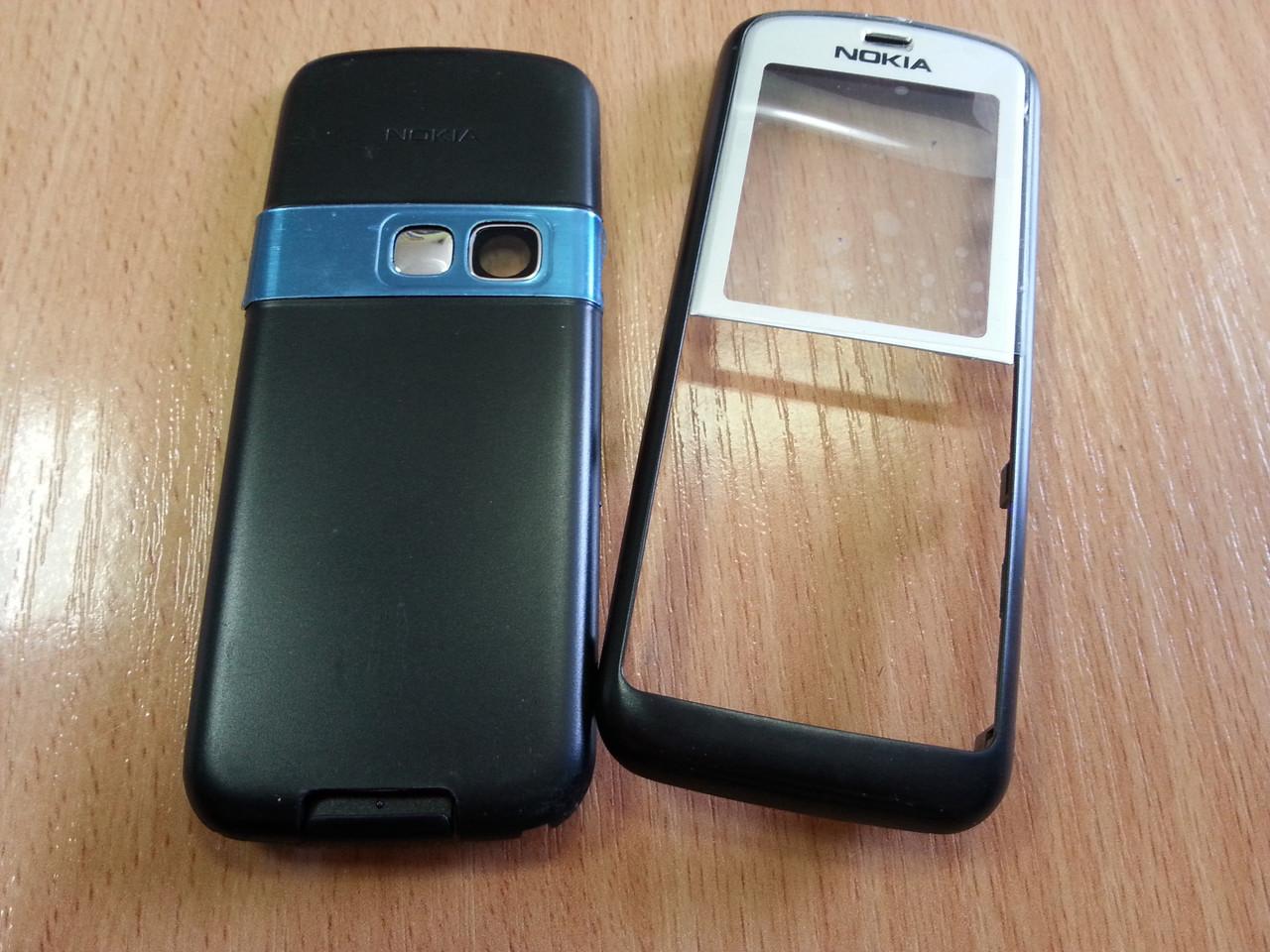 Корпус Nokia 6070 набор из 2 панелей черно серый