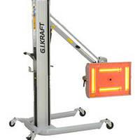 Инфракрасная коротковолновая сушка (4х1000W, 40°C-100°C, 0-99мин, ж/к дисплей, датчик расстояния и t°) G.I.