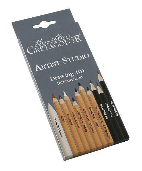Набор карандашей CRETACOLOR Artist Studio 11шт карт. коробка 46411