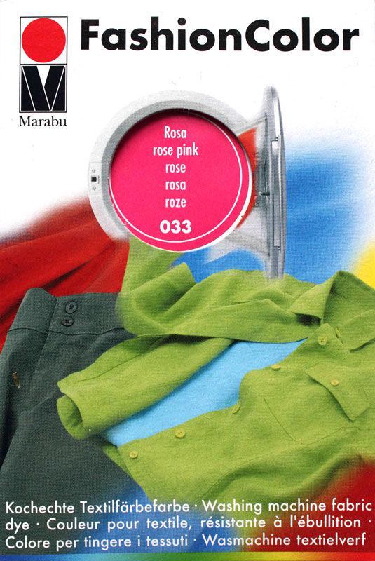 Краситель для ткани MARABU 30мл 174023033 Розовый