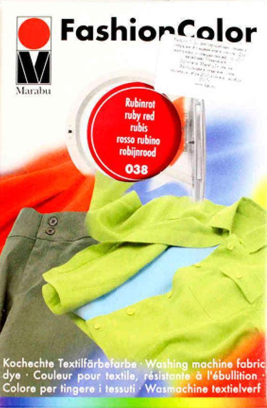 Краситель для ткани MARABU 30мл 174023038 Рубиновый