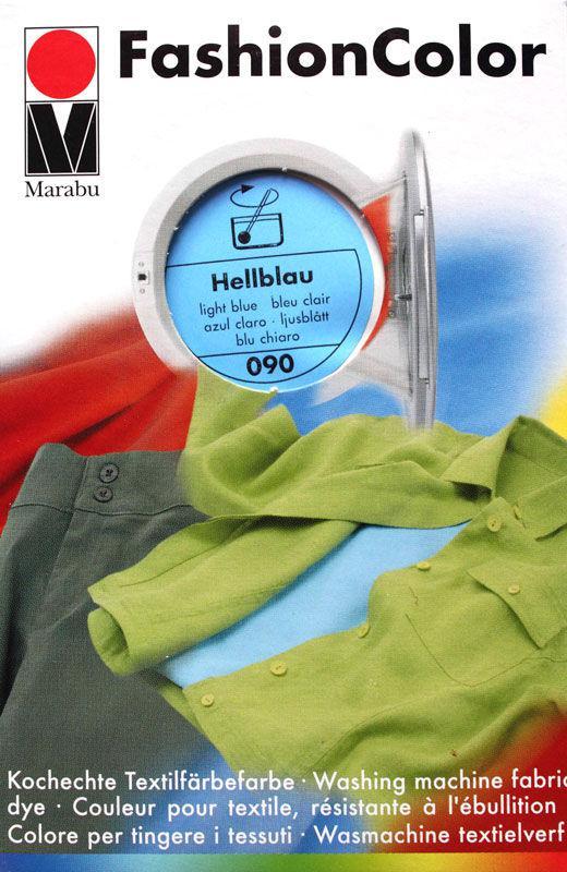 Краситель для ткани MARABU 30мл 174023090 Голубой светлый