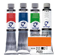 Краска масляная Van Gogh 40мл Royal Talens №211 Кадмий оранжевый 02052113