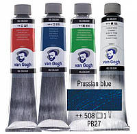 Краска масляная Van Gogh 40мл Royal Talens №508 Прусская лазурь 02055083