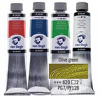 Краска масляная Van Gogh 40мл Royal Talens №620 Оливкавая зеленая 02056203