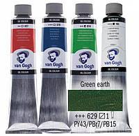 Краска масляная Van Gogh 40мл Royal Talens №629 Зеленая земля 02056293