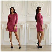 Женское платье из ангоры в разных цветах tez4503103