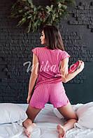 Женская пижама ,вискоза, шорты . Цвет- на фото
