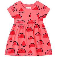Платье летнее детское для девочки Арбузик