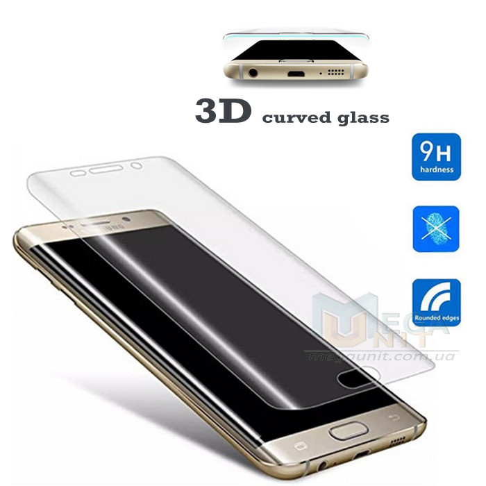 3D Защитное стекло 9H (на весь экран) для Samsung Galaxy Note 7 (N930)