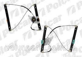 Механизм стеклоподъемника водительской двери audi a6c5 97-2005г, (Polcar 1327psg1)