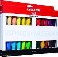 Краски акриловые Amsterdam набор 24цв. по 20мл Royal Talens 17820424