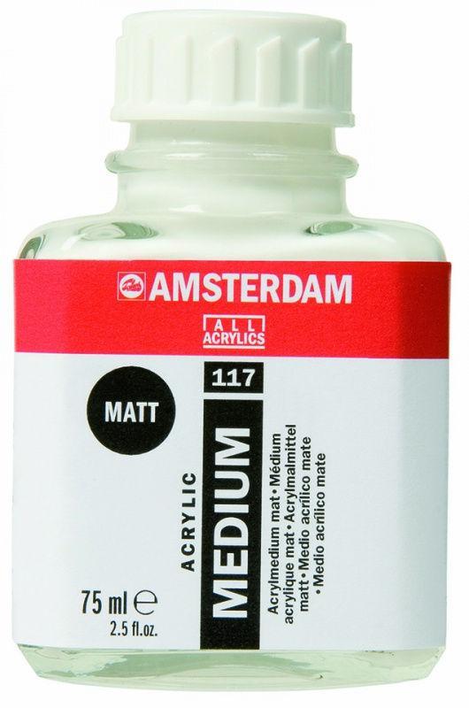 Медиум для акрила Amsterdam Royal Talens 75мл матовый 24283117