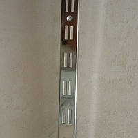 Рейка хромированная двойная, 2м. (широкая), фото 1
