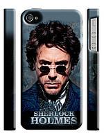 Чехол Шерлок Холмс для iPhone 4/4s
