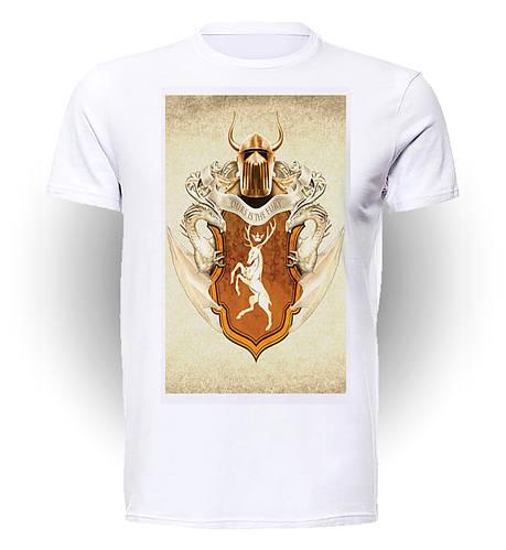 Футболка GeekLand Игра Престолов Games of Thrones Герб Баратеонов art GT.01.030