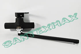 Смеситель для ванны Mixxus Missouri Black 006 euro Черный