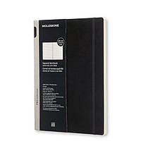 Блокнот Moleskine Workbook A4 Мягкий Клетка Черный