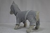 Костюм для собак Турист серый, фото 2