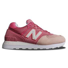 Женские кроссовки New Balance 574 Pink