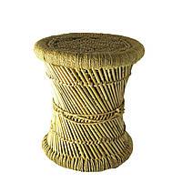 Табурет плетеный круглый