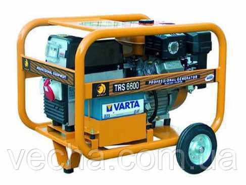Бензогенератор BENZA TRDS 6600/5.5-6.0 кВт (электростартер, низк. уров. шума)