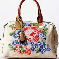 Женская сумка Velina Fabbiano бежевая