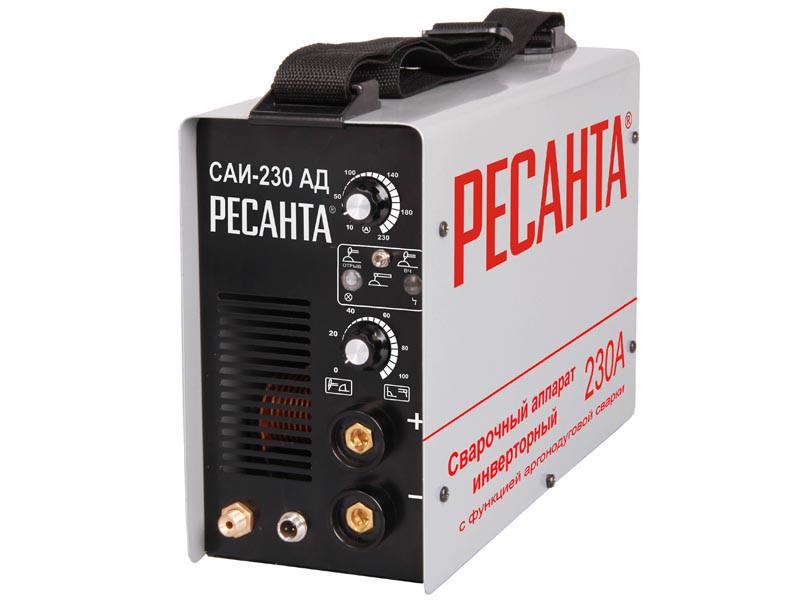 Аргонодуговай сварочный аппарат инверторный Ресанта САИ-230-АД