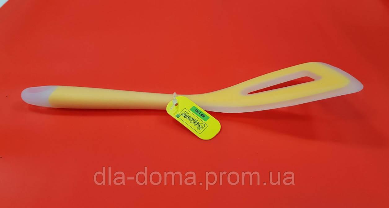 Лопатка силиконовая c полостью