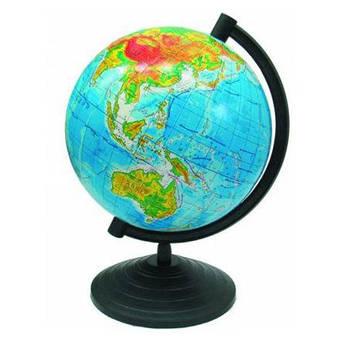 Глобус настольный диаметр 22см МаркоПоло на пластиковой ножке физический гф22
