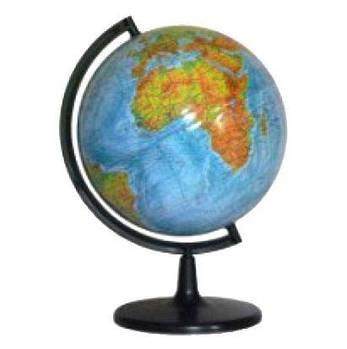 Глобус  настольный диаметр 26см МаркоПоло на пластиковой ножке физический гф26