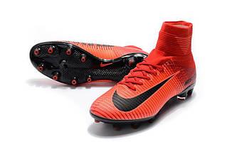 Бутсы Nike Mercurial Superfly V AG-Pro Bright Crimson/White/University Red