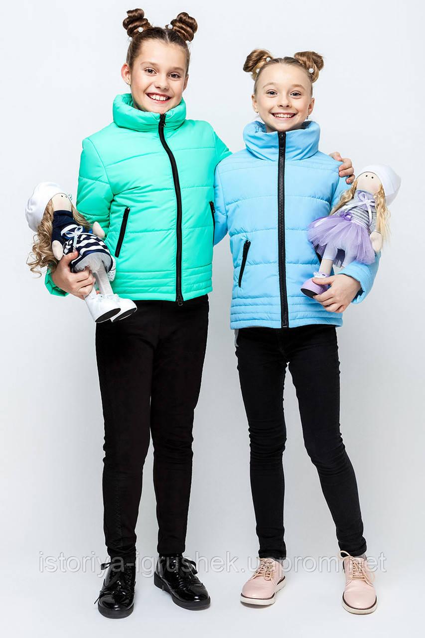Курточка для девочки весенняя vkd-6 в ассортименте
