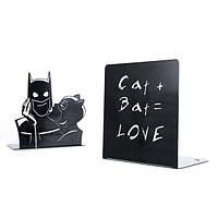 Держатели для книг Женщина-кошка и Batman