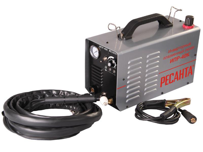 Плазменный резак инверторный Ресанта ИПР-40 К
