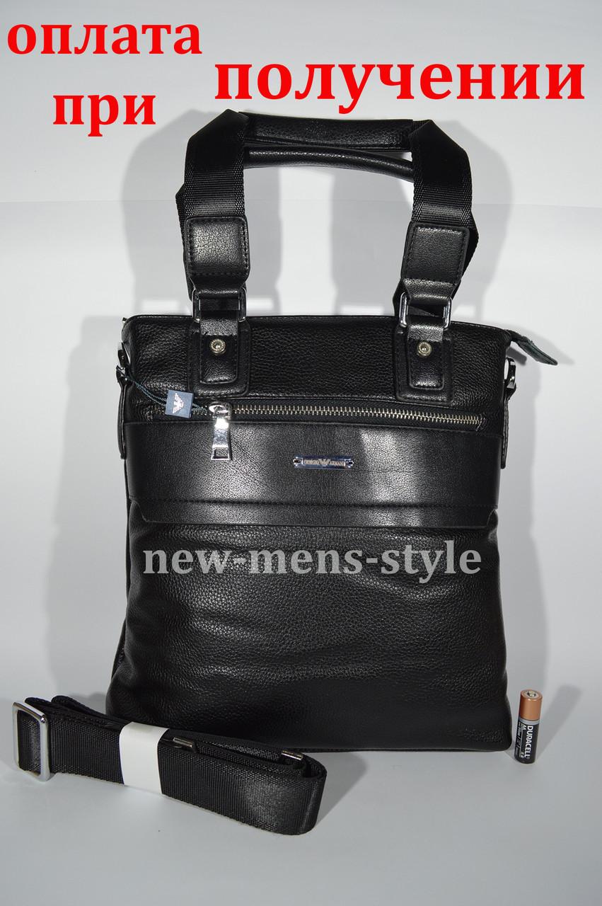 Чоловіча шкіряна фірмова сумка барсетка Giorgio Armani Polo купити