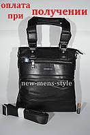 Мужская кожаная фирменная сумка барсетка Giorgio Armani Polo купить, фото 1