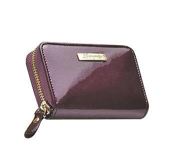 Футляр для пластик. карточек кожаный Langres Glaze LS.820300-30 Сливовый 11,8*7,6*2,7см