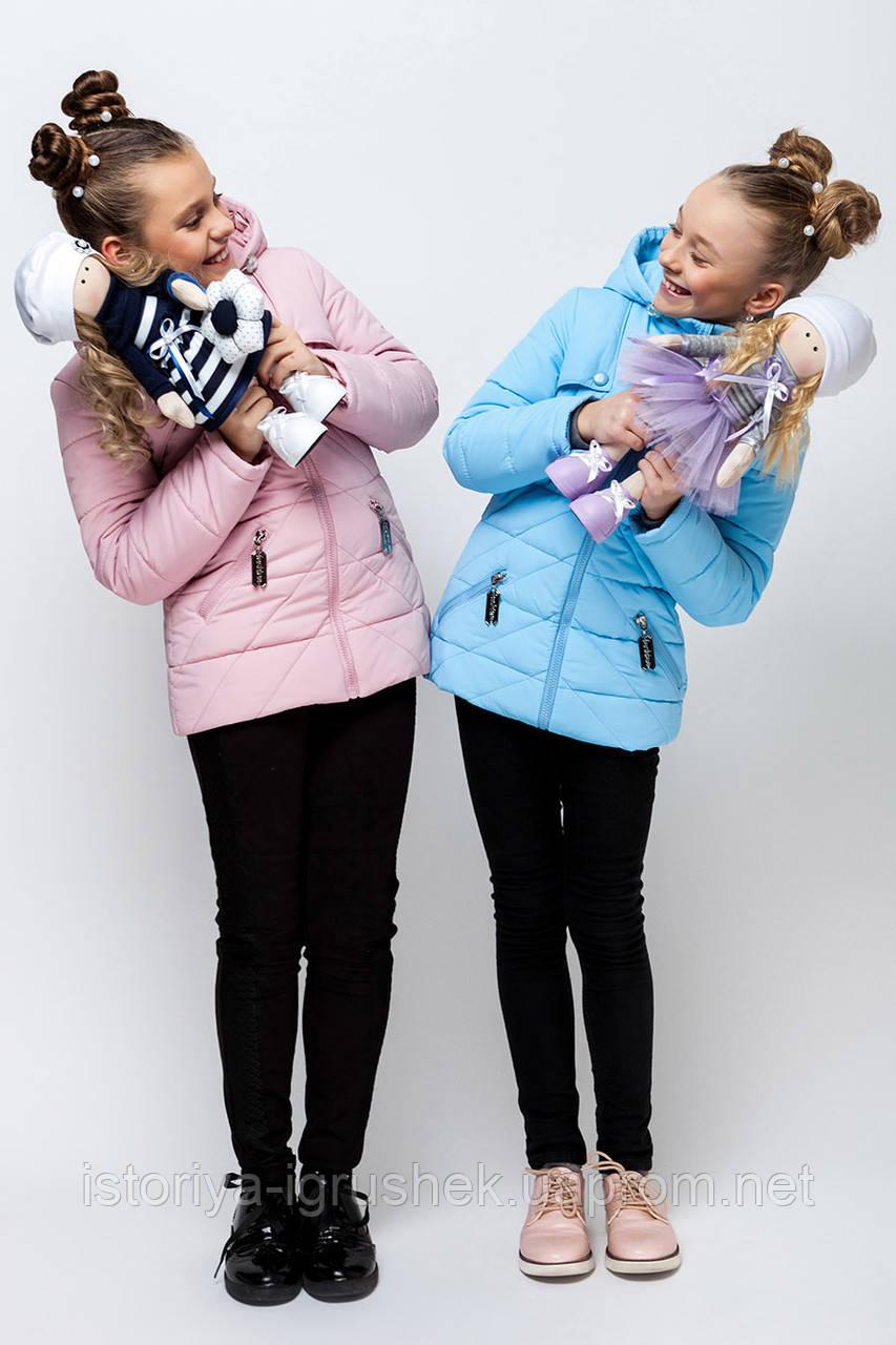 Весенняя куртка для девочки vkd-3 в ассортименте