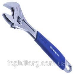 Ключ разводной с обрезиненной ручкой 200мм, 0-25мм   СТАНДАРТ  AWR2200