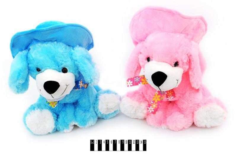 Мягкая игрушка Собачка в шляпке 14319\30, щенок 30cм