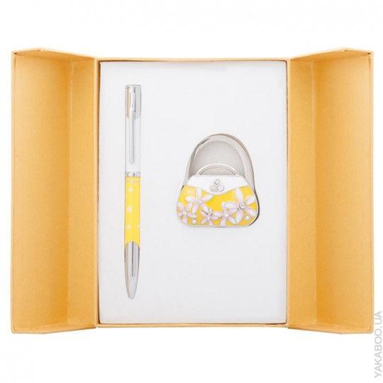 Ручки в наборе Langres Sense 1шт+крючок для сумки, желтый LS.122031-08
