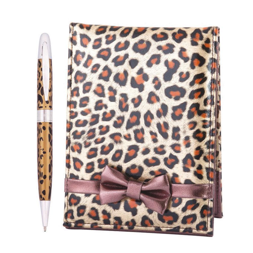 Ручки в наборе Langres Leopard 1шт + зеркальце, леопард LS.122033-34