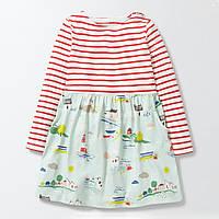 Платье детское для девочки Море