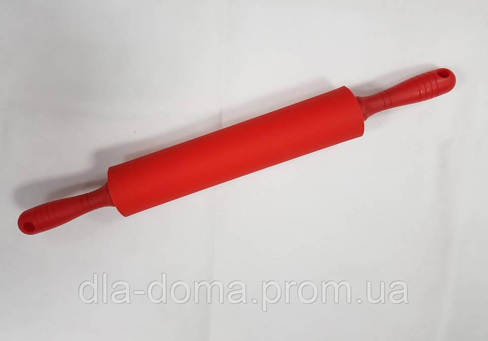 Скалка для теста с силиконовым покрытием 45 см
