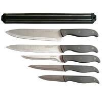 Набор ножей с магнитной планкой Maestro 6 предметов,