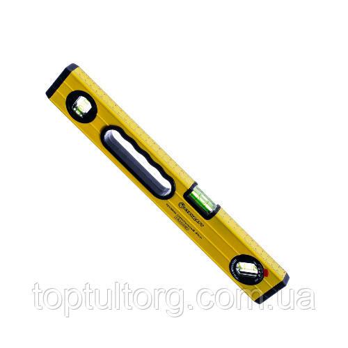 Уровень строительный 200см 3 глазка, 2 ручки  СТАНДАРТ  LWH0200