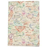 Обложка для паспорта Just Cover «Штампи»
